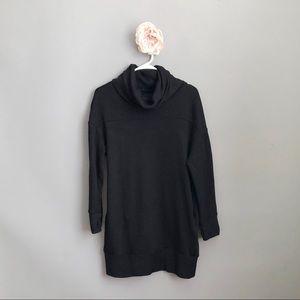 ST. JOHN'S BAY Black Tunic Sweatshirt w/ Pockets